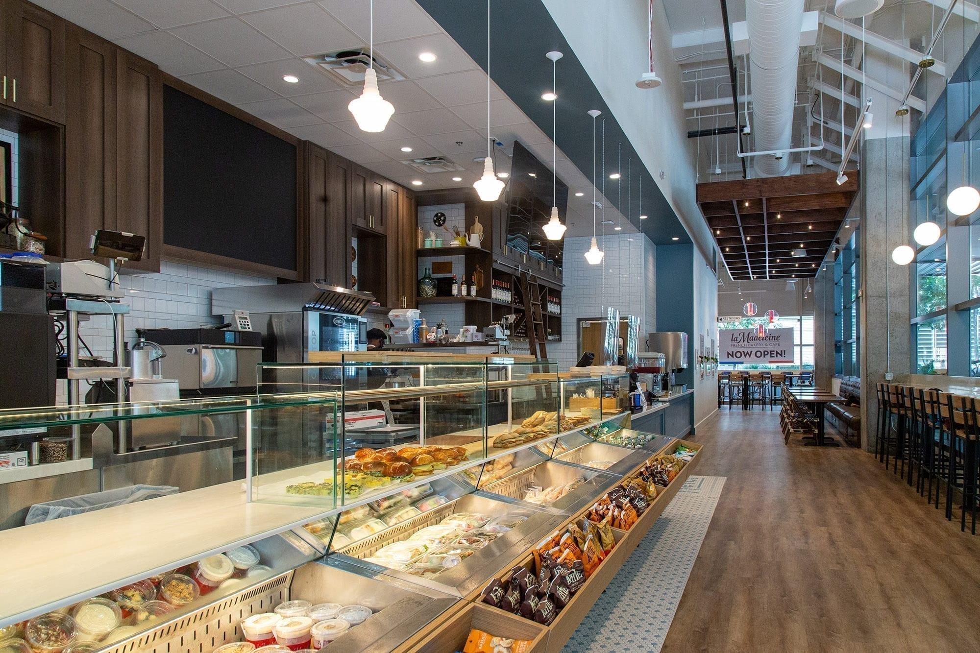 la madeleine - cafe bakery - Etats-Unis
